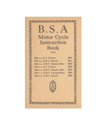 BSA EMPIRE STAR 250 350 1937