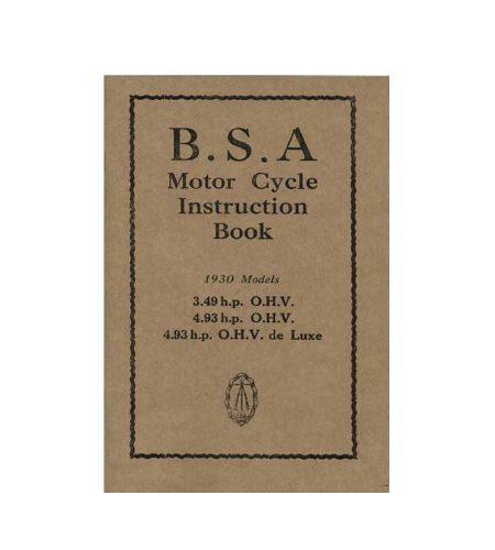 BSA SLOPER 1930