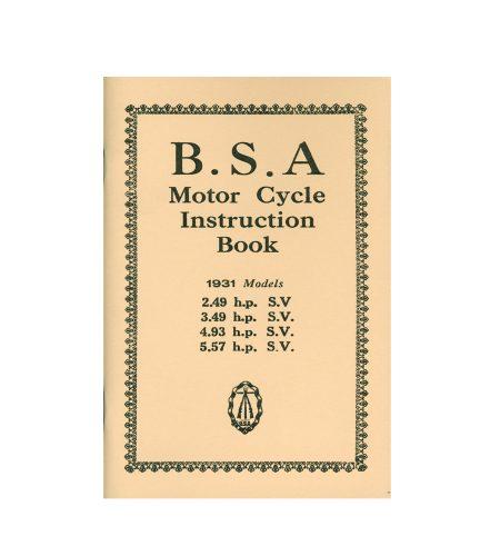 BSA SLOPER SIDE VALVE 1931